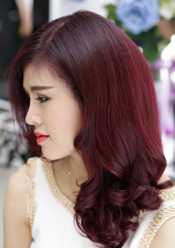 Màu tóc đẹp nữ