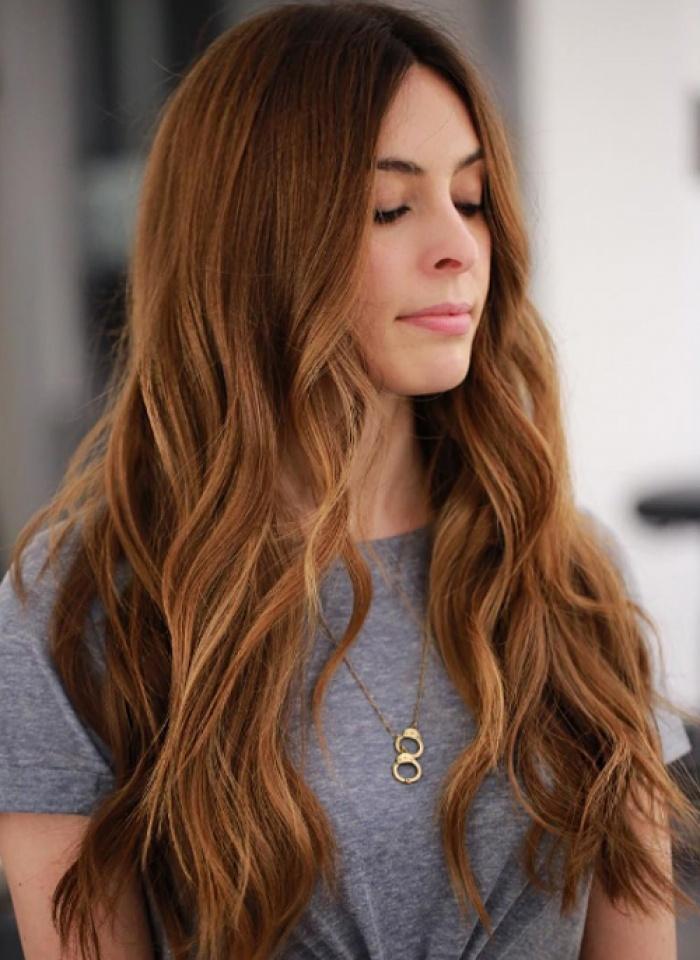 Màu tóc đơn giản nhẹ nhàng