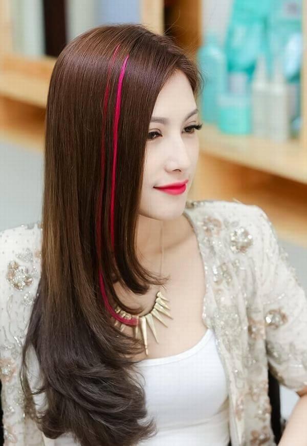 Mẫu tóc hightlight đẹp
