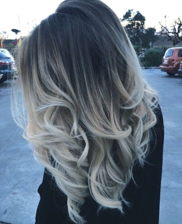 Màu tóc khói đẹp