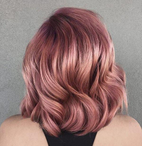 Màu tóc ngắn đẹp