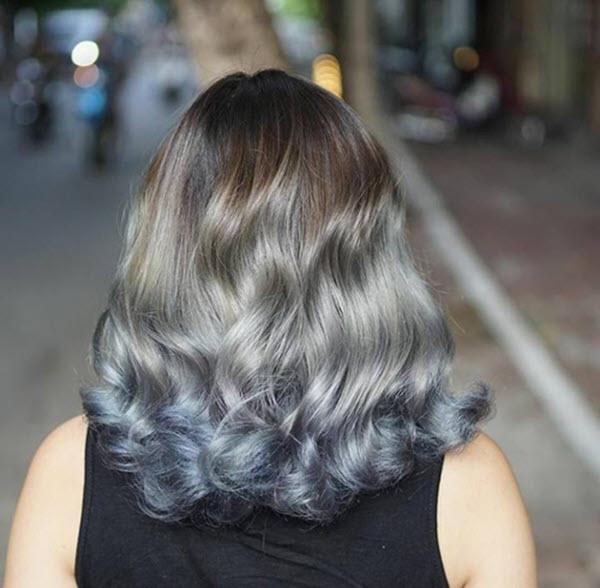 Mẫu tóc ngắn xoăn sóng nước đẹp nhất