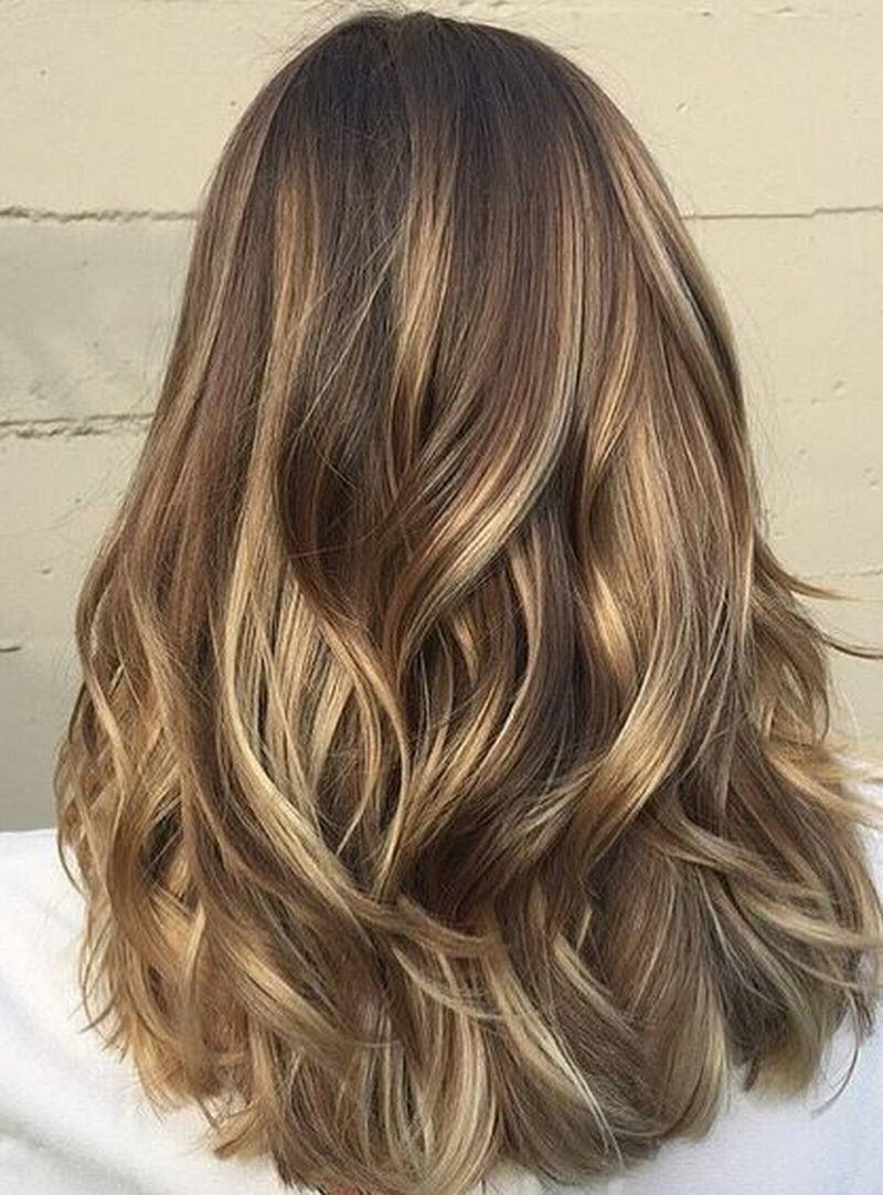 Màu tóc nhuộm hightlight đẹp