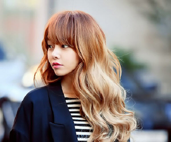 Màu tóc nhuộm phong cách Hàn Quốc đẹp