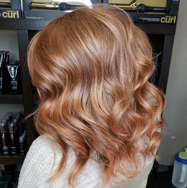 Màu tóc xoăn đẹp