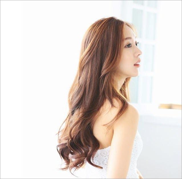 Tóc xoăn nhẹ Hàn Quốc