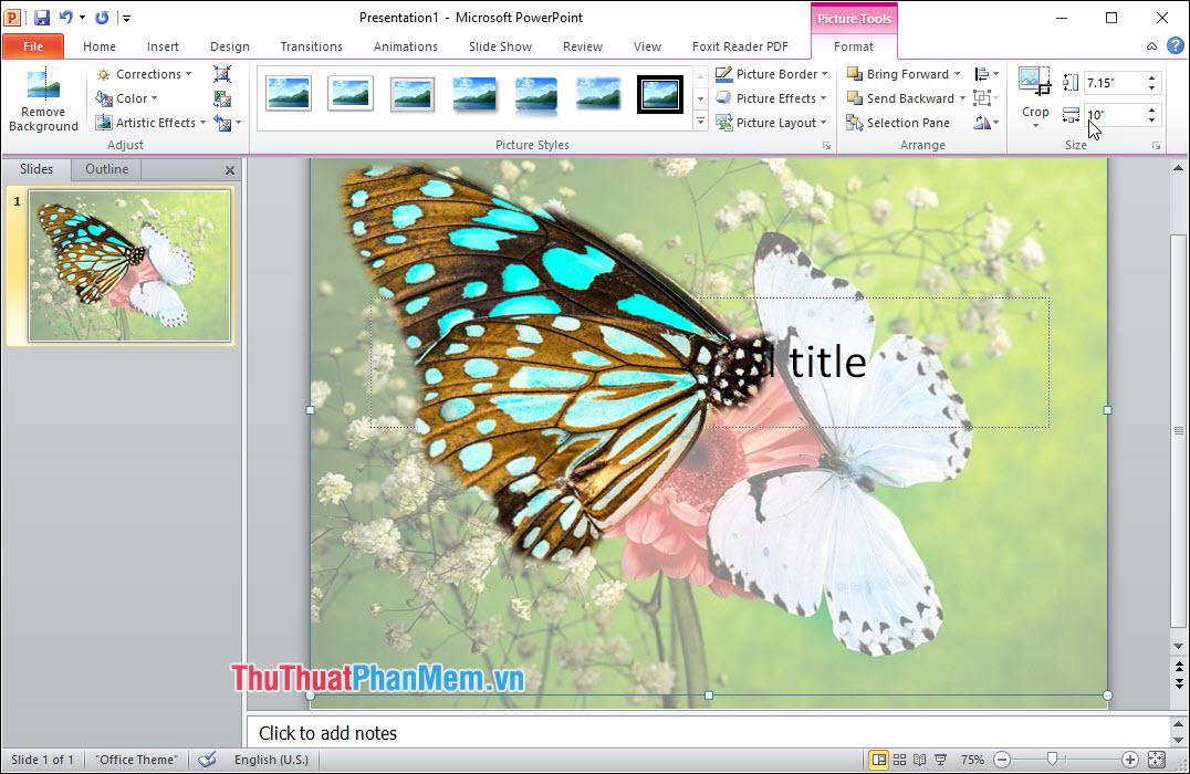 Chọn Soft Edges và sử dụng chúng để làm mềm các Edges của ảnh