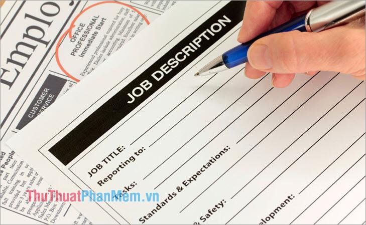 Job Descriptions 2