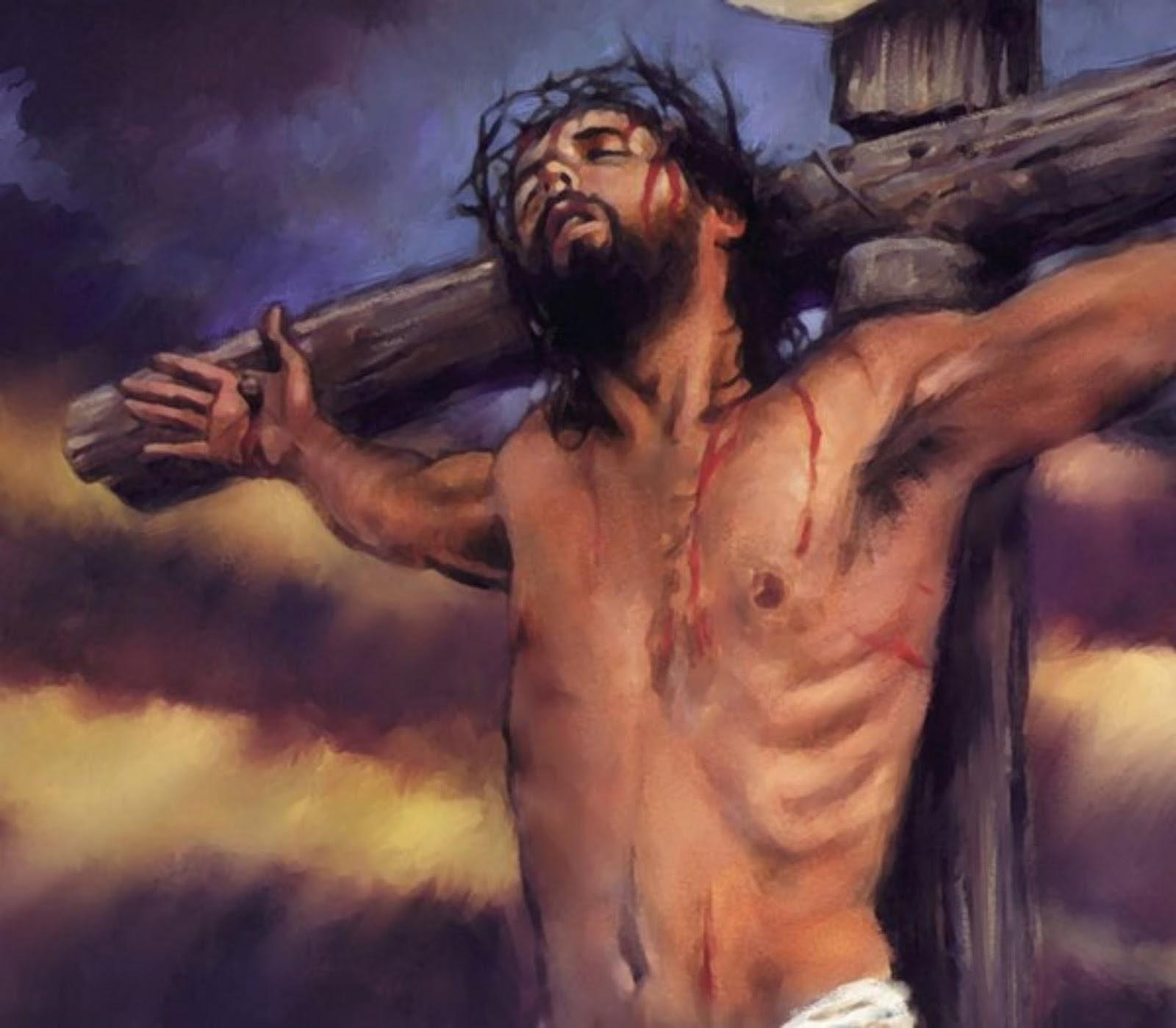 Chúa Giêsu bị đóng đinh lên cây thánh giá