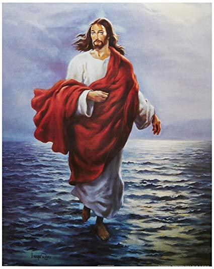 Chúa Giêsu bước đi trên biển