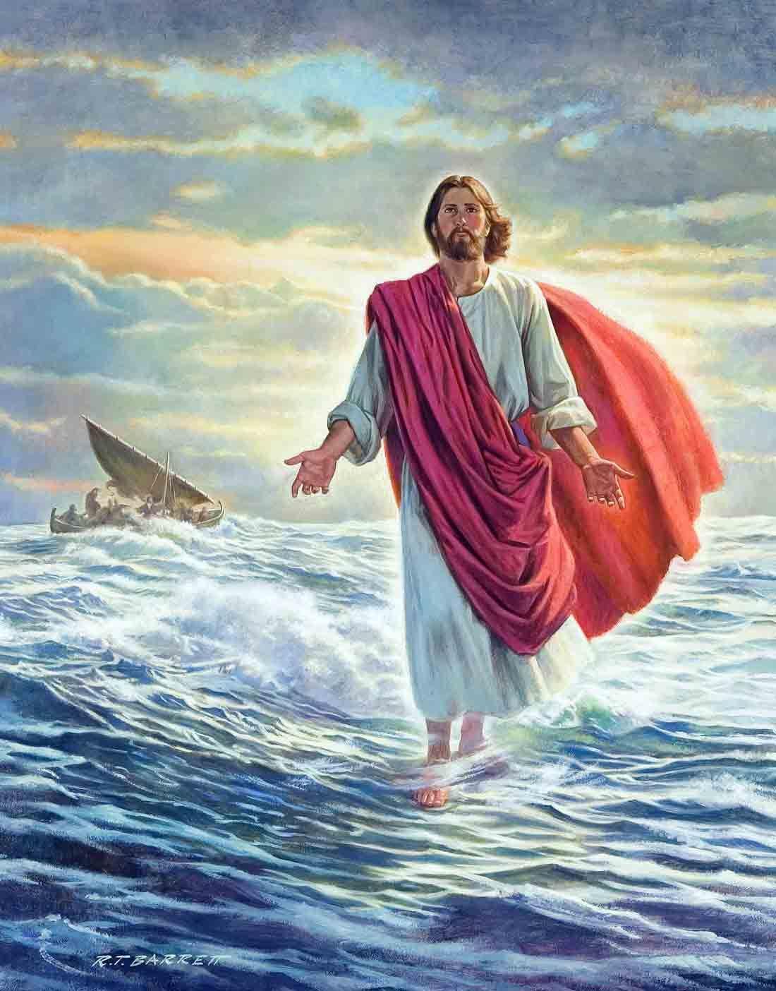 Chúa Giêsu bước đi trên mặt nước