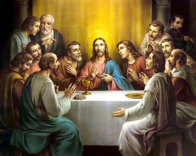 Chúa Giêsu lập bí tích thánh thể