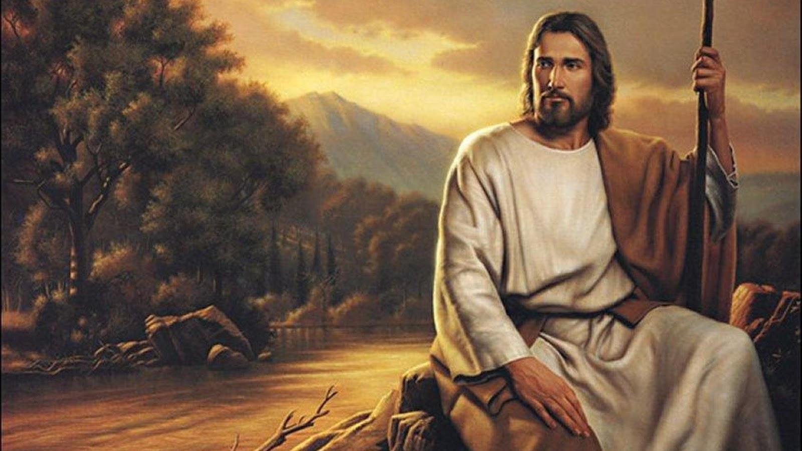 Chúa Giêsu ngồi ở đâu đó ven đường