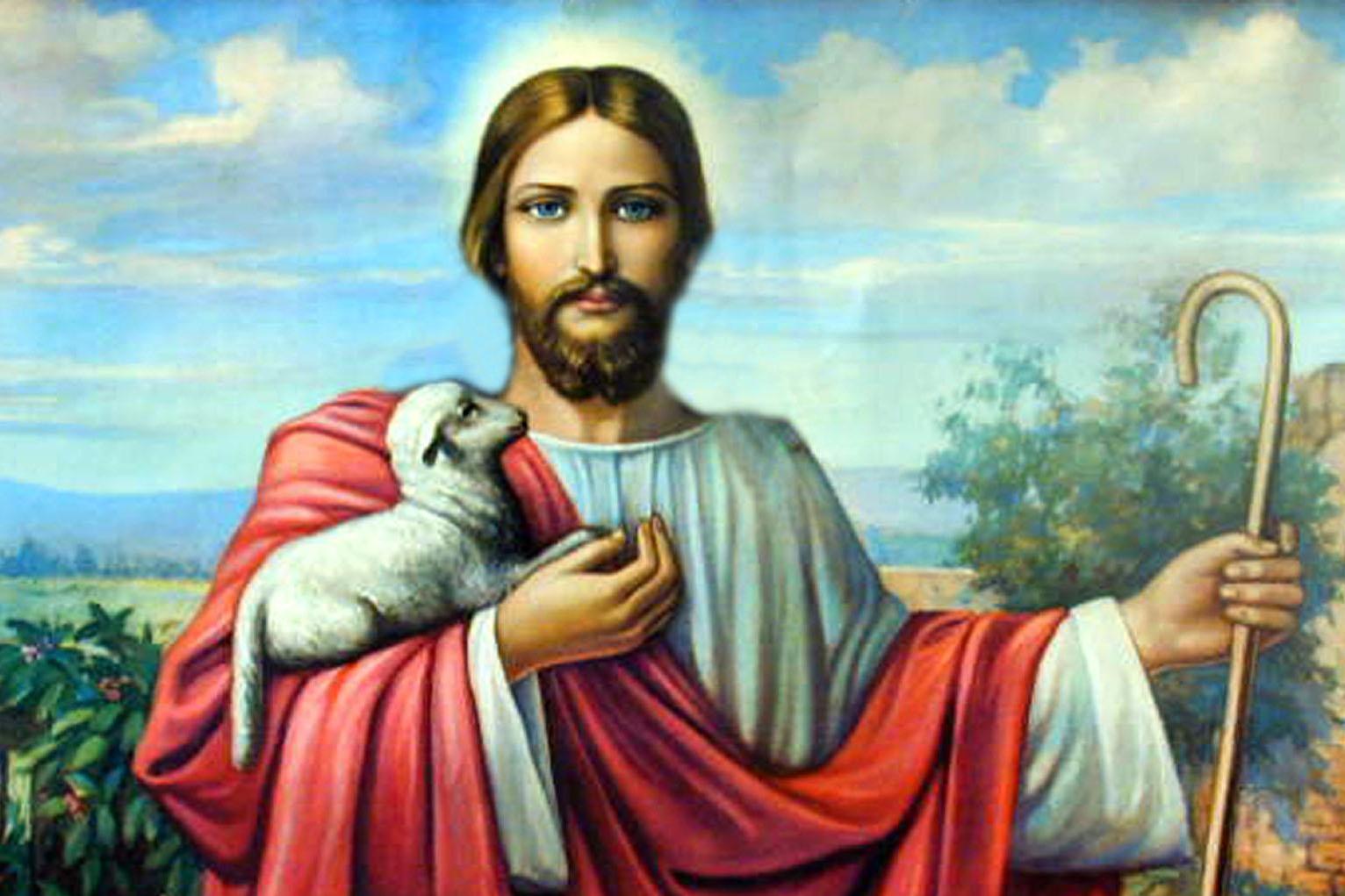 Chúa Giêsu và con chiên của Người