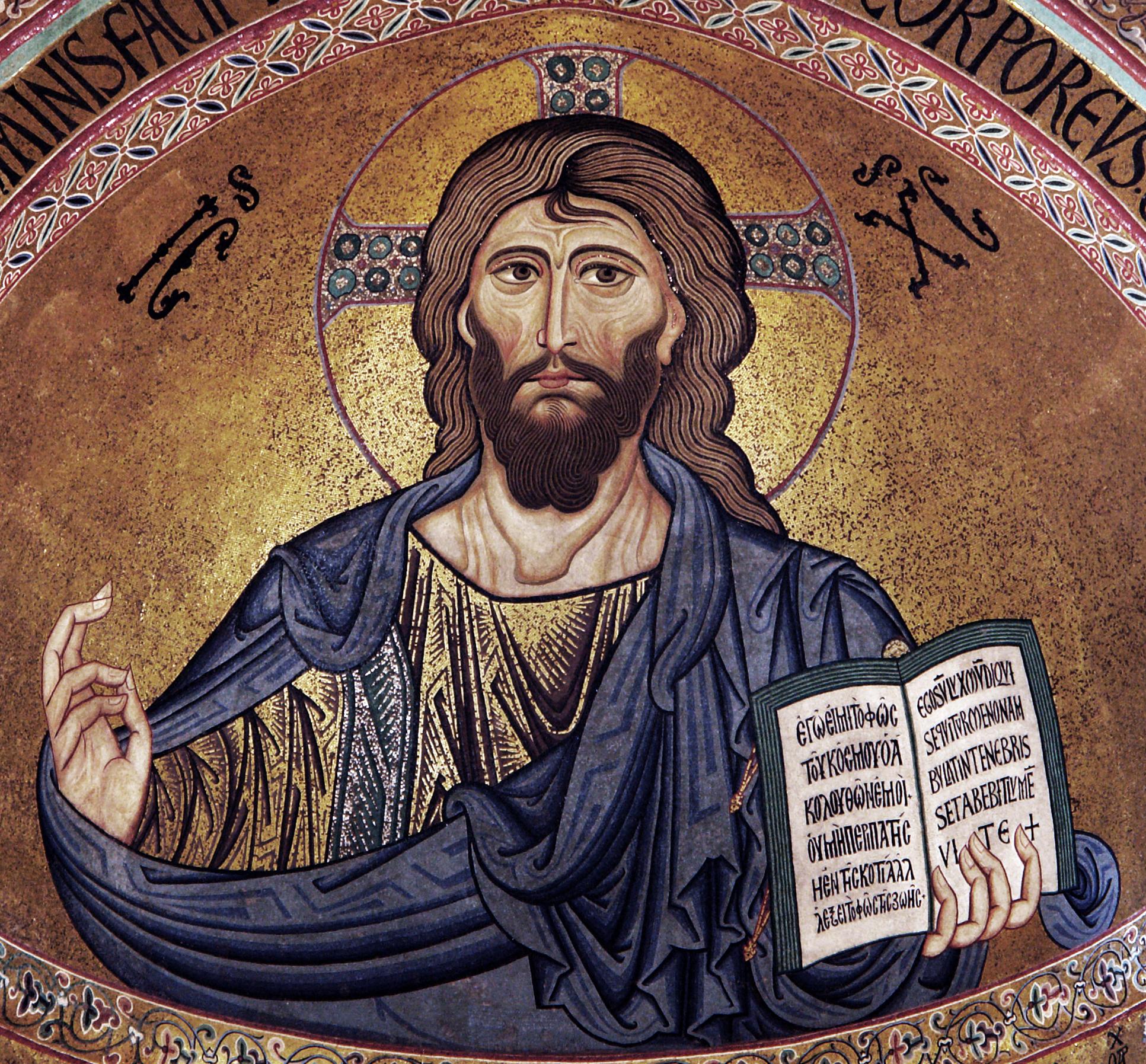 Hình minh họa Chúa Giêsu đang giảng đạo