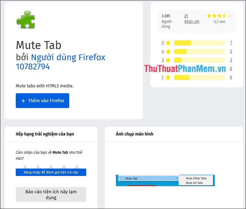 Mute Tab