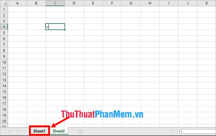 cách kết hợp dữ liệu, kết nối dữ liệu giữa 2 sheet trong excel