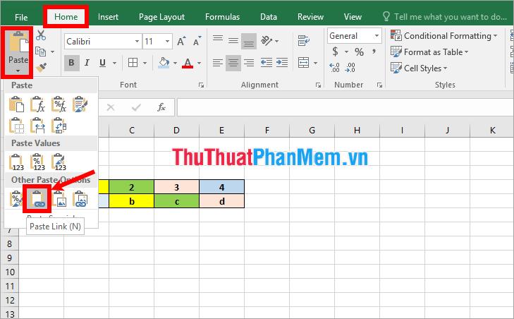 cách liên hiệp dữ liệu, kết nối dữ liệu giữa 2 sheet trong excel